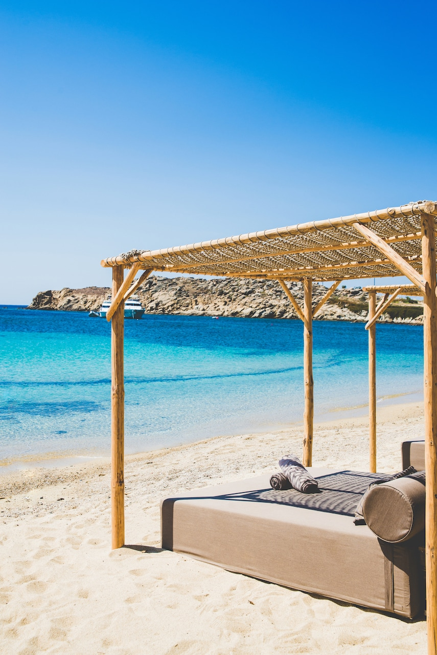 santanna mykonos beach pool