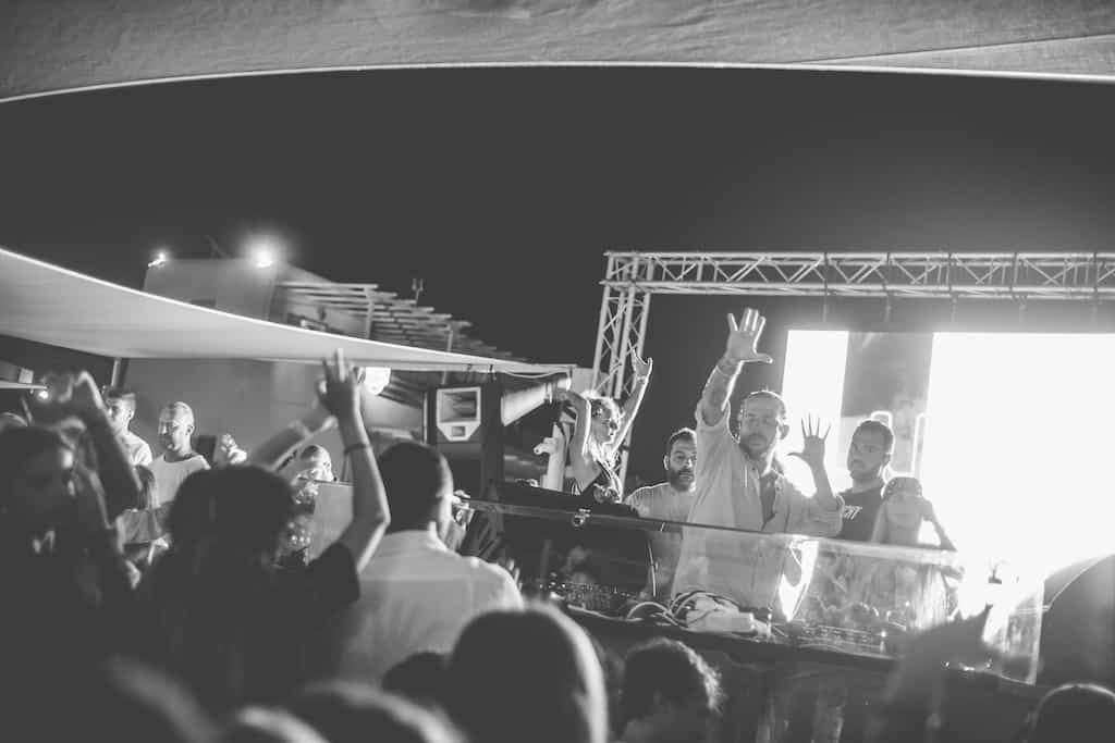 Lucien Luciano beach club party